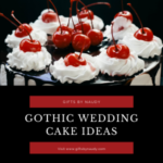 Gothik wedding cake idea