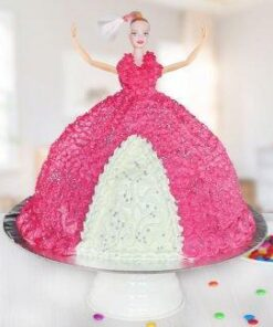 barbie doll theme cake design in Delhi NCR