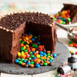 cake with gems and truffle in south delhi