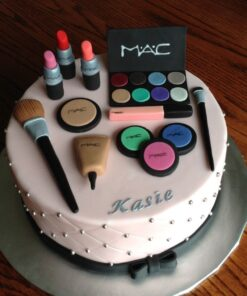 birthday cake with makeup theme delivery in south delhi