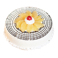 Pineapple flavour cake